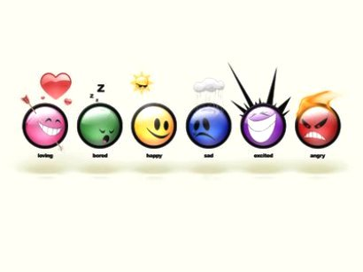 Love, Bored, Happy, Sadness, Hyper, Anger