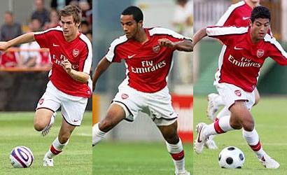 Ramsey, Walcott and Vela