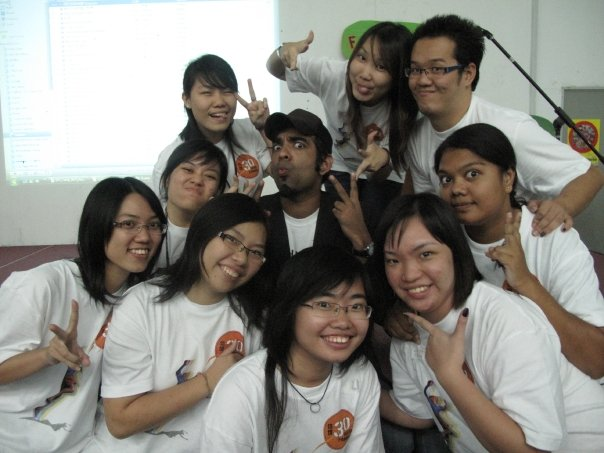 Classmates and random people from Kampar campus