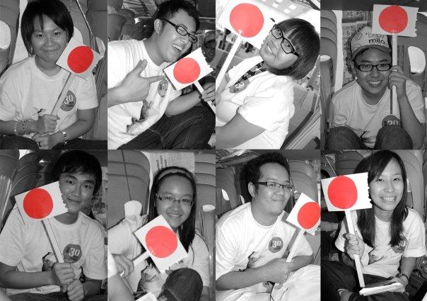 My activities group mates aka Japan group